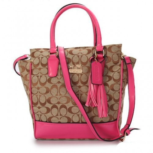 Coach Legacy Tanner In Signature Small Pink Crossbody Bags AAB