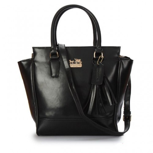 Coach Legacy Tanner Small Black Crossbody Bags AAH