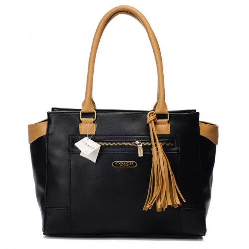 Coach Legacy Candace Carryall Medium Black Satchels AAK