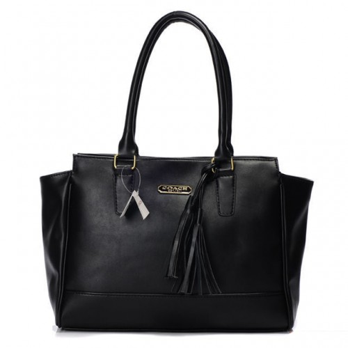 Coach Legacy Candace Carryall Medium Black Satchels AAM