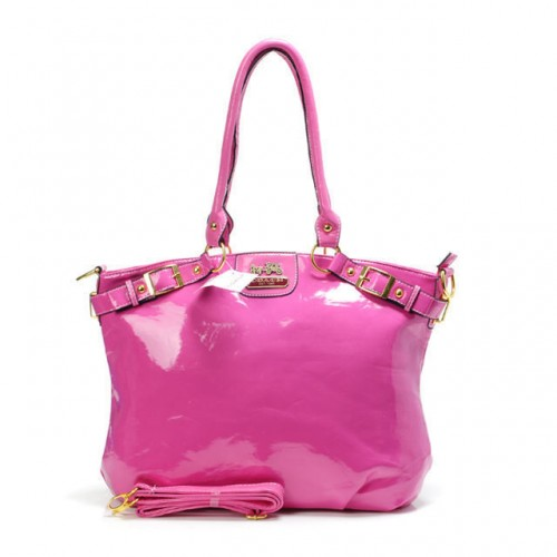 Coach Madison Kelsey Smooth Medium Fuchsia Satchels ABT