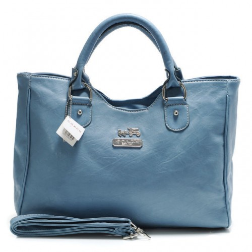 Coach Legacy Large Blue Satchels ABZ