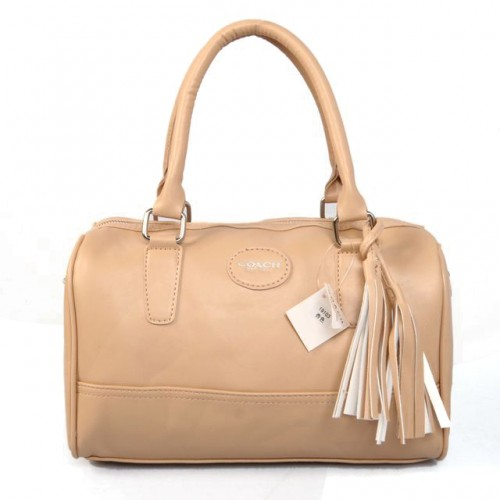 Coach Legacy Haley Medium Apricot Satchels ADH