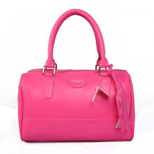 Coach Legacy Haley Medium Fuchsia Satchels ADI