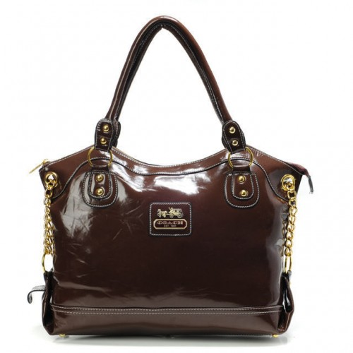 Coach Legacy Pinnacle Lowell Large Coffee Satchels ADP