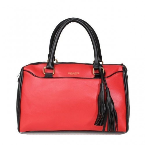 Coach Legacy Haley Medium Red Satchels AET