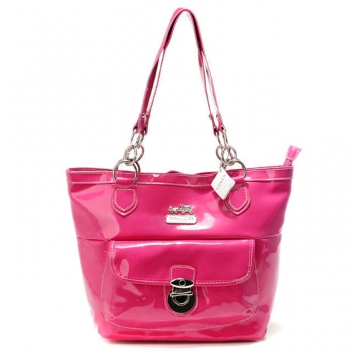 Coach Willis Colorblock Medium Pink Totes AFD