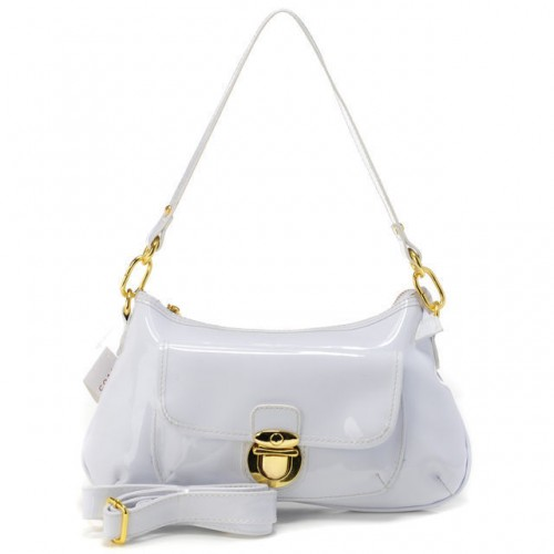 Coach Kristin Colorblock Medium White Shoulder Bags AFH