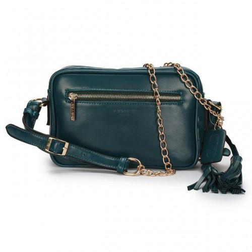 Coach Legacy Flight Medium Green Crossbody Bags AFS