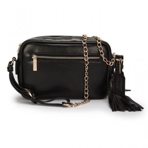 Coach Legacy Flight Medium Black Crossbody Bags AFU