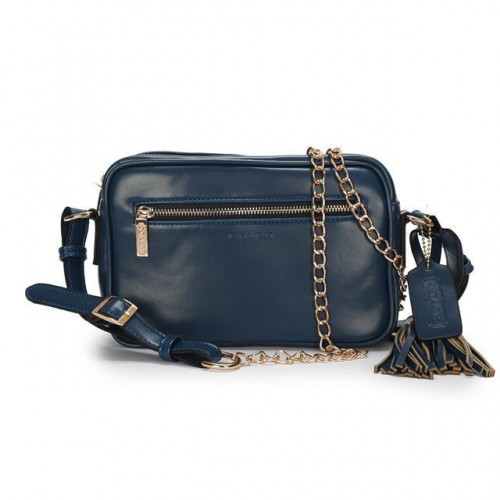 Coach Legacy Flight Medium Navy Crossbody Bags AFZ