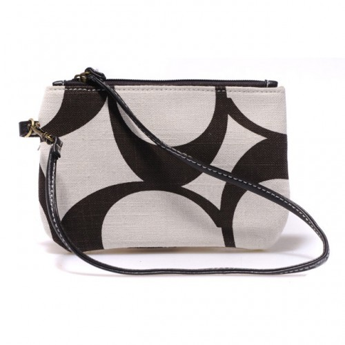 Coach Legacy In Signature Small White Wristlets AHR