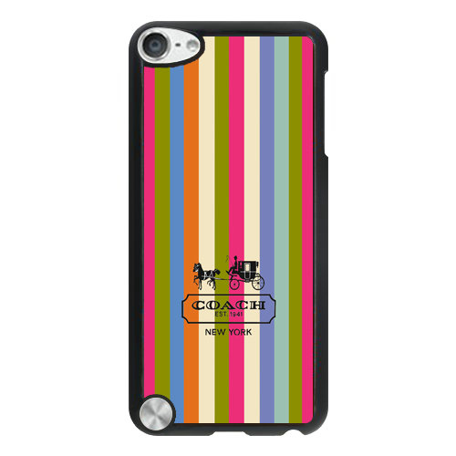 Coach Stripe Multicolor iPod Touch 5TH AJF