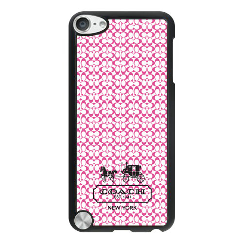 Coach In Confetti Signature Pink iPod Touch 5TH AJK