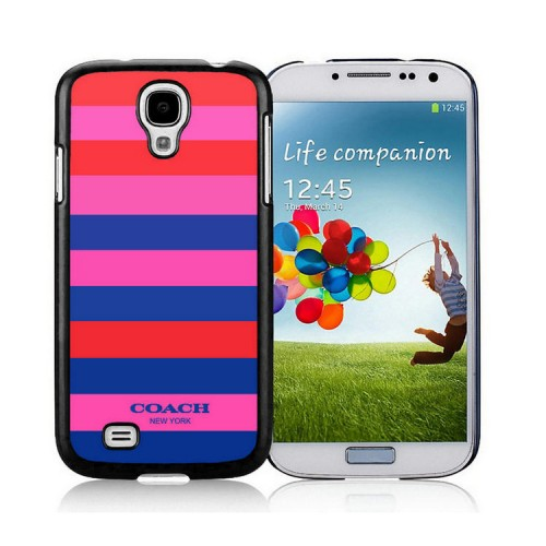 Coach Stripe Multicolor Samsung Galaxy S4 9500 AJO