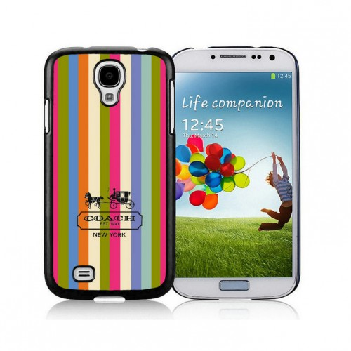 Coach Stripe Multicolor Samsung Galaxy S4 9500 AJP