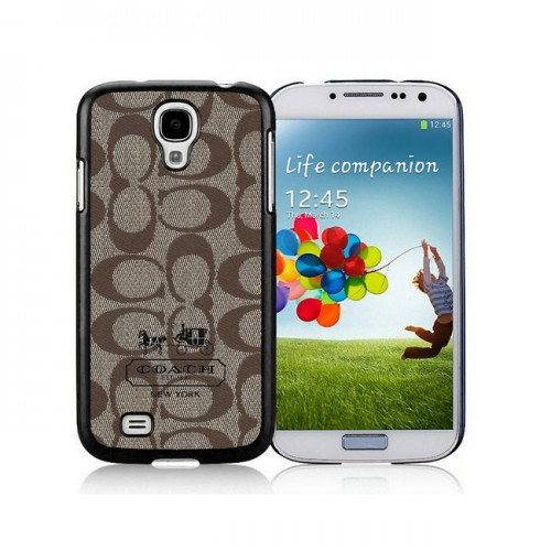 Coach In Signature Beige Samsung Galaxy S4 9500 AJR