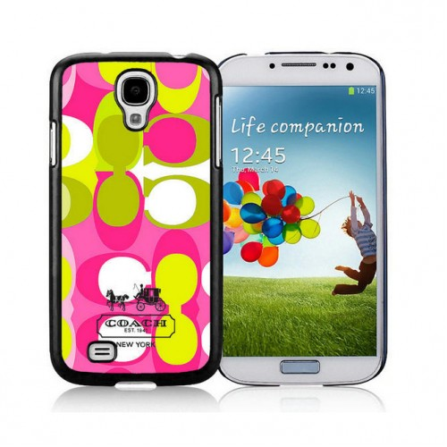 Coach In Signature Multicolor Samsung Galaxy S4 9500 AJS