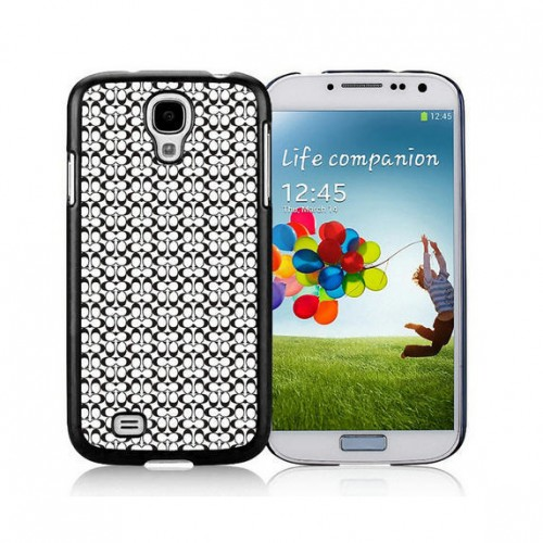 Coach In Confetti Signature Black Samsung Galaxy S4 9500 AJV