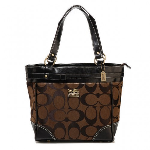 Coach Legacy In Signature Medium Coffee Totes API