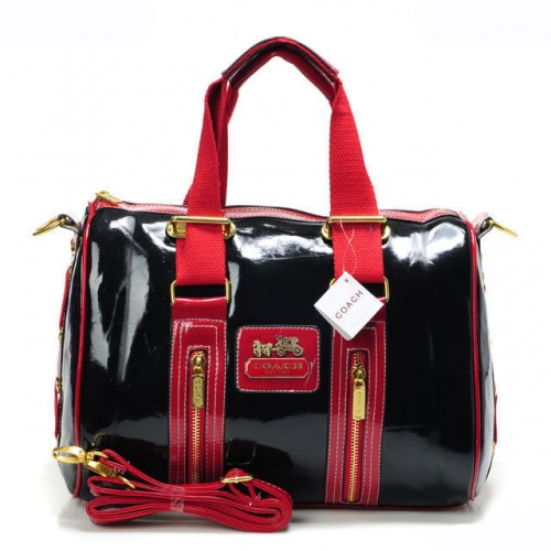 Coach Smooth Medium Red Luggage Bags AQO