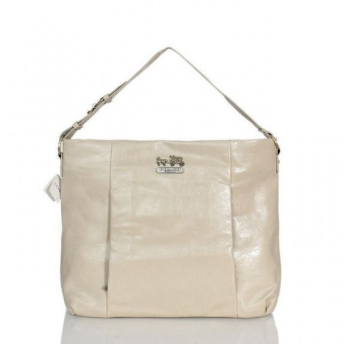 Coach Phoebe Large Ivory Shoulder Bags ASD