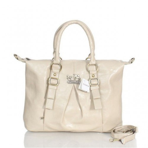 Coach In Signature Medium Ivory Satchels ASH
