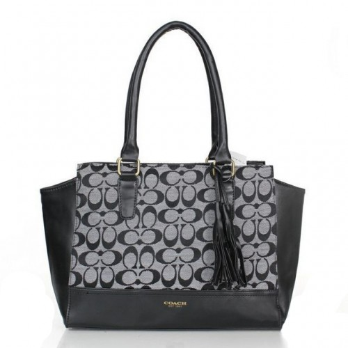Coach Legacy Candace In Signature Medium Grey Satchels ASP