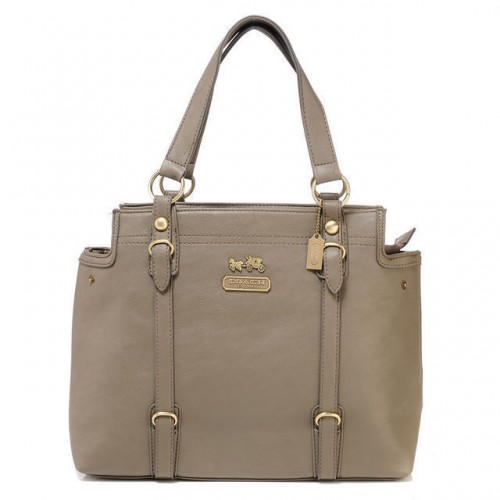 Coach Logo Medium Grey Totes ATF