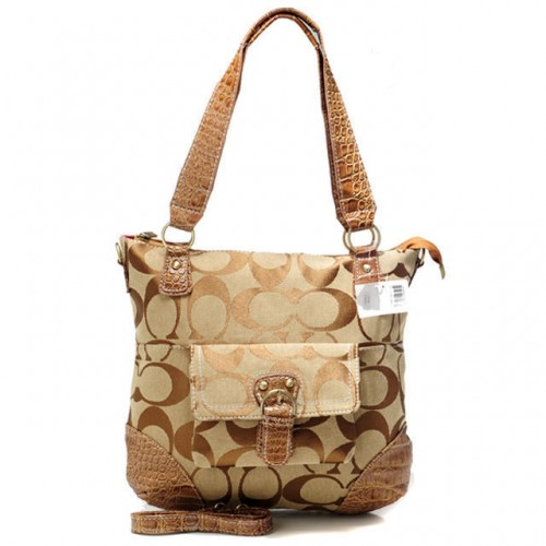 Coach In Signature Medium Khaki Totes ATV