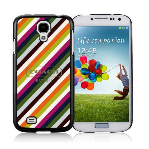 Coach Stripe Multicolor Samsung Galaxy S4 9500 AUT