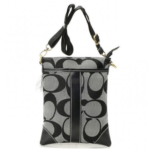 Coach Legacy Swingpack In Signature Small Grey Crossbody Bags AV
