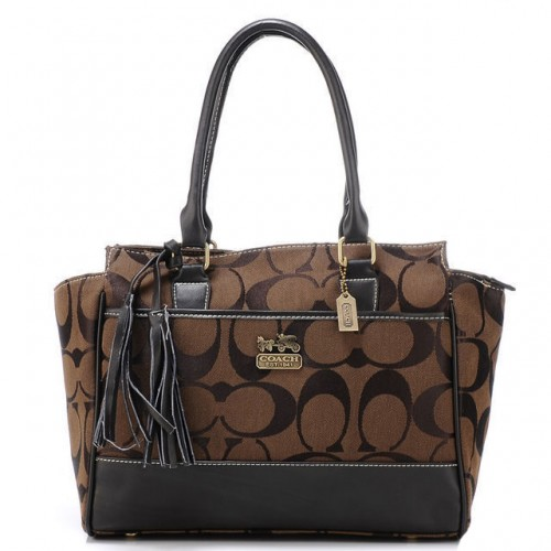 Coach Legacy Candace Medium Coffee Satchels AZI