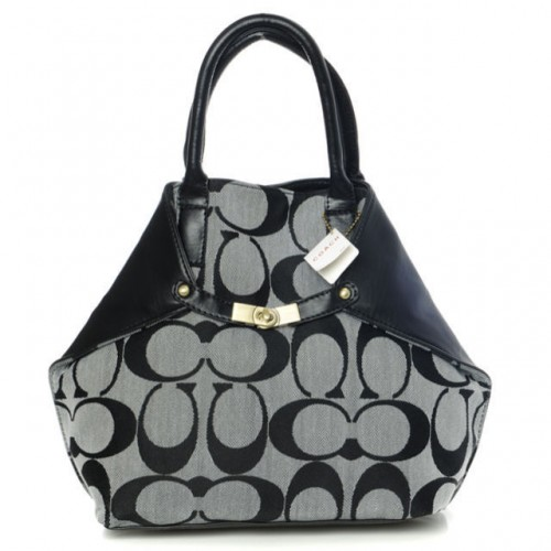 Coach Lock Small Grey Totes BAN