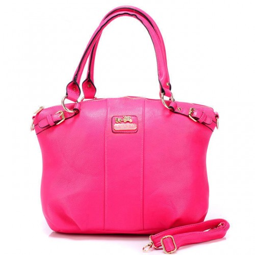 Coach Kelsey Smooth Medium Pink Satchels BDR