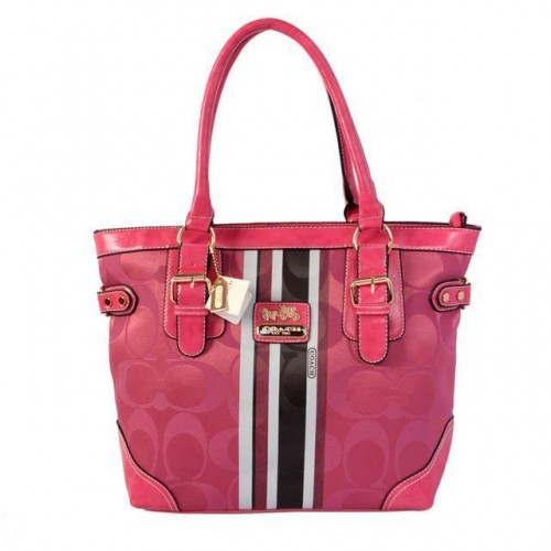 Coach In Signature Medium Pink Totes BEZ