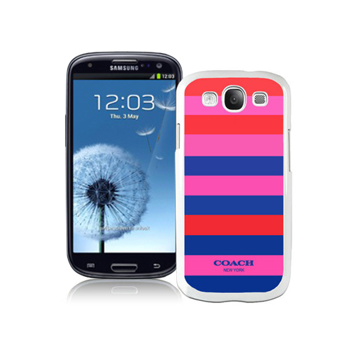 Coach Stripe Multicolor Samsung Galaxy S3 9300 BGA