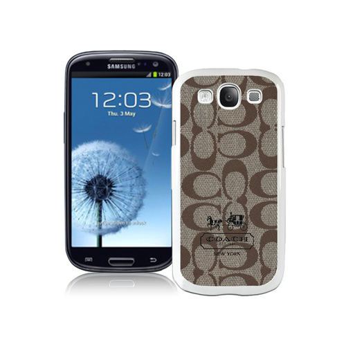 Coach In Signature Beige Samsung Galaxy S3 9300 BGD