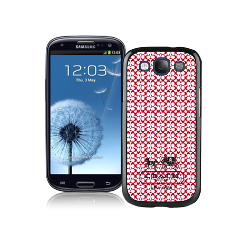 Coach In Confetti Signature Red Samsung Galaxy S3 9300 BGY