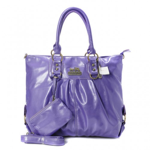 Coach In Smooth Medium Purple Satchels BMA
