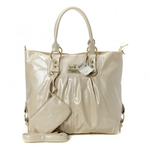 Coach In Smooth Medium Ivory Satchels BMC