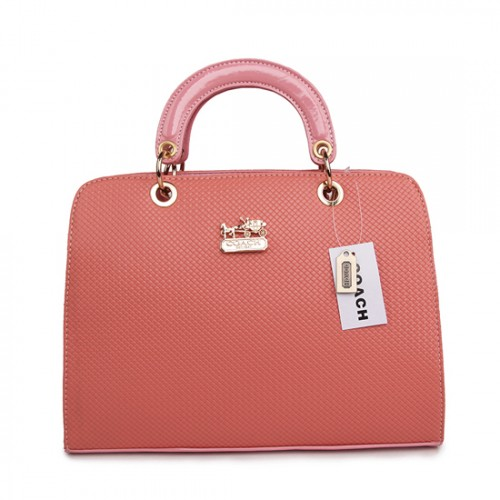 Coach Fashion Signature Medium Pink Satchels BSI