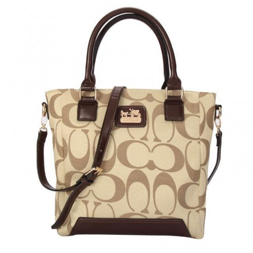 Coach Legacy Tanner In Monogram Small Khaki Crossbody Bags BUK