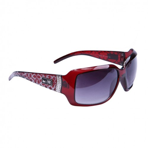 Coach Pamela Red Sunglasses BVF