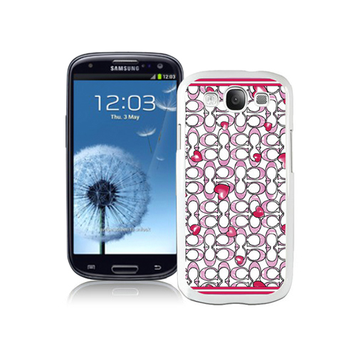 Coach Love Logo Pink Samsung Galaxy S3 9300 CAR