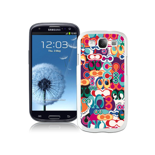 Coach Fashion Monogram Multicolor Samsung Galaxy S3 9300 CAS