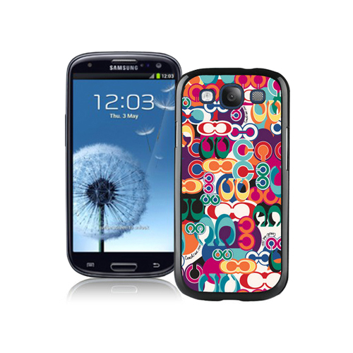 Coach Fashion Monogram Multicolor Samsung Galaxy S3 9300 CBD
