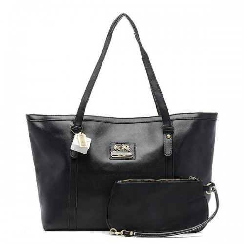 Coach City Large Black Totes CBY