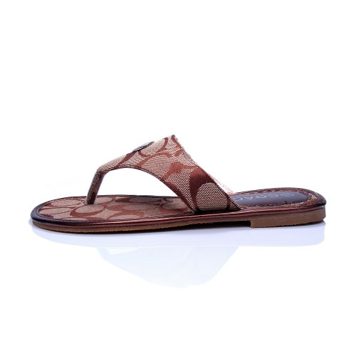 Coach Sara Signature Khaki Sandals COU