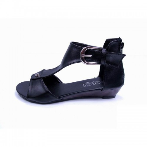 Coach Paula Black Sandals CPM